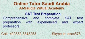Comprehensive Entry Test preparation