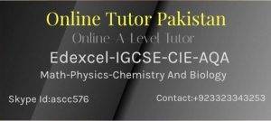 Online Tutors Pakistan