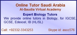 Online Biology Tutor Saudi Arabia