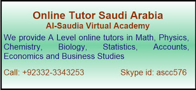 Expert A and O Levels Tutoring Saudi Arabia