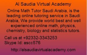 Online Math Tutor Saudi Arabia