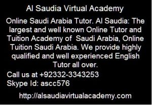 Online SEO Tutors Saudi Arabia