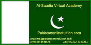 Pakistan Best Online Tutor