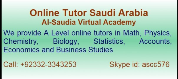 A and O level Tuition